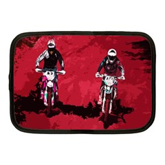 Motorsport  Netbook Case (medium)  by Valentinaart