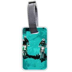 Motorsport  Luggage Tags (two Sides)