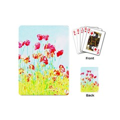 Poppy Field Playing Cards (mini)