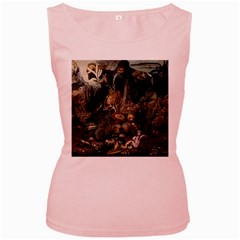 Underwater Women s Pink Tank Top by Valentinaart