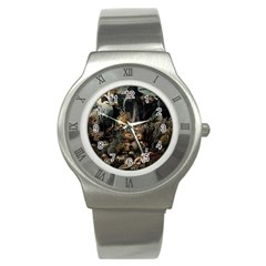 Underwater Stainless Steel Watch by Valentinaart