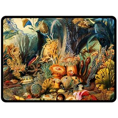 Underwater Double Sided Fleece Blanket (large)