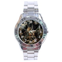 Underwater Stainless Steel Analogue Watch by Valentinaart