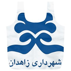 Seal Of Zahedan  Full Print Recycle Bags (l)  by abbeyz71