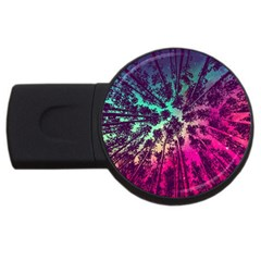 Just A Stargazer Usb Flash Drive Round (4 Gb) by augustinet
