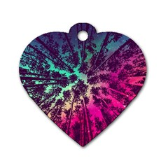 Just A Stargazer Dog Tag Heart (one Side) by augustinet