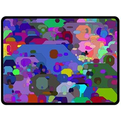 Big And Small Shapes                            Plate Mat by LalyLauraFLM