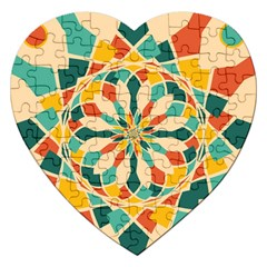 Summer Festival Jigsaw Puzzle (heart) by linceazul