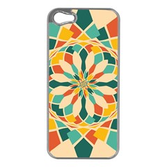 Summer Festival Apple Iphone 5 Case (silver) by linceazul
