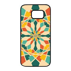 Summer Festival Samsung Galaxy S7 Edge Black Seamless Case by linceazul