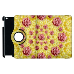 Roses And Fantasy Roses Apple Ipad 3/4 Flip 360 Case by pepitasart