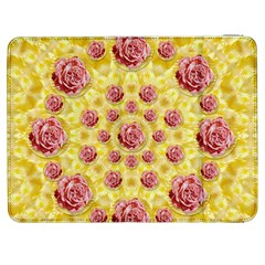 Roses And Fantasy Roses Samsung Galaxy Tab 7  P1000 Flip Case by pepitasart