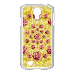 Roses And Fantasy Roses Samsung Galaxy S4 I9500/ I9505 Case (white) by pepitasart