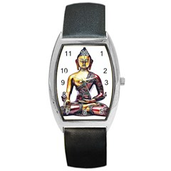 Buddha Barrel Style Metal Watch by taoteching