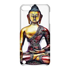 Buddha Apple Ipod Touch 5 Hardshell Case With Stand by taoteching