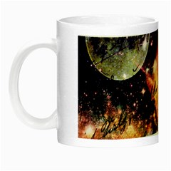 Letter From Outer Space Night Luminous Mugs by augustinet