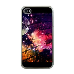 Letter From Outer Space Apple Iphone 4 Case (clear) by augustinet