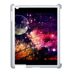 Letter From Outer Space Apple Ipad 3/4 Case (white) by augustinet