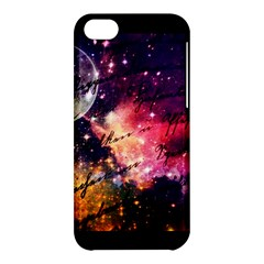 Letter From Outer Space Apple Iphone 5c Hardshell Case by augustinet