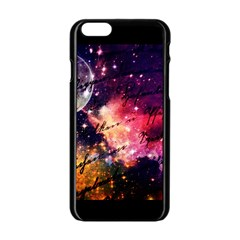 Letter From Outer Space Apple Iphone 6/6s Black Enamel Case by augustinet
