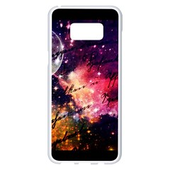 Letter From Outer Space Samsung Galaxy S8 Plus White Seamless Case by augustinet