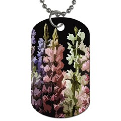 Flowers Dog Tag (two Sides) by Valentinaart