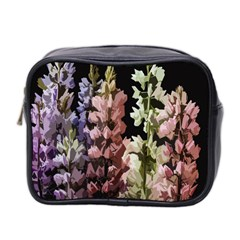 Flowers Mini Toiletries Bag 2 Side