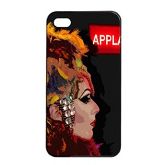 Transvestite Apple Iphone 4/4s Seamless Case (black) by Valentinaart