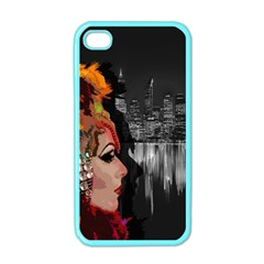 Transvestite Apple Iphone 4 Case (color) by Valentinaart