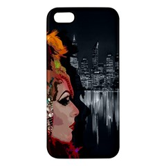 Transvestite Apple Iphone 5 Premium Hardshell Case by Valentinaart