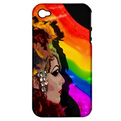 Transvestite Apple Iphone 4/4s Hardshell Case (pc+silicone) by Valentinaart