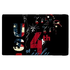 4th Of July Independence Day Apple Ipad Pro 9 7   Flip Case by Valentinaart