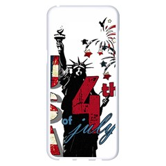 4th Of July Independence Day Samsung Galaxy S8 Plus White Seamless Case
