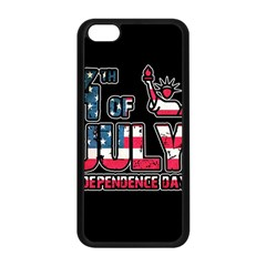 4th Of July Independence Day Apple Iphone 5c Seamless Case (black)