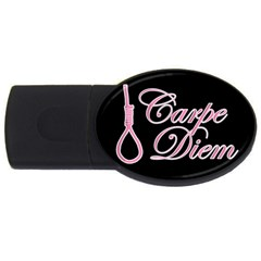 Carpe Diem  Usb Flash Drive Oval (2 Gb) by Valentinaart