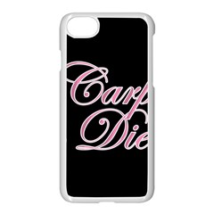 Carpe Diem  Apple Iphone 7 Seamless Case (white) by Valentinaart