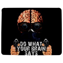Do What Your Brain Says Jigsaw Puzzle Photo Stand (rectangular) by Valentinaart