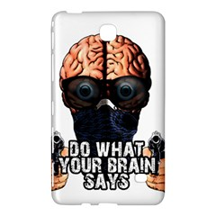 Do What Your Brain Says Samsung Galaxy Tab 4 (7 ) Hardshell Case