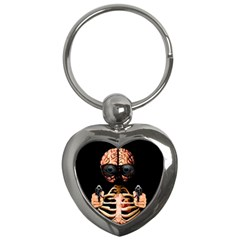 Do What Your Brain Says Key Chains (heart)