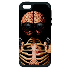 Do What Your Brain Says Apple Iphone 5 Hardshell Case (pc+silicone)