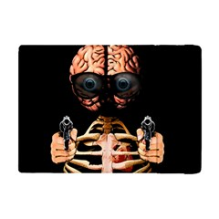 Do What Your Brain Says Apple Ipad Mini Flip Case by Valentinaart