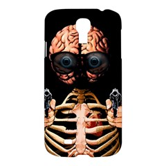 Do What Your Brain Says Samsung Galaxy S4 I9500/i9505 Hardshell Case by Valentinaart