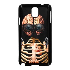 Do What Your Brain Says Samsung Galaxy Note 3 Neo Hardshell Case (black) by Valentinaart