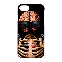 Do What Your Brain Says Apple Iphone 7 Hardshell Case by Valentinaart