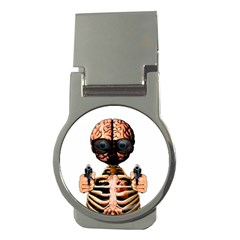 Do What Your Brain Says Money Clips (round)