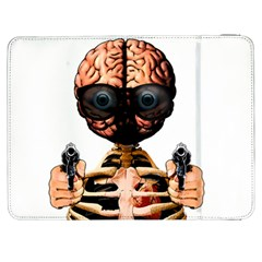 Do What Your Brain Says Samsung Galaxy Tab 7  P1000 Flip Case by Valentinaart