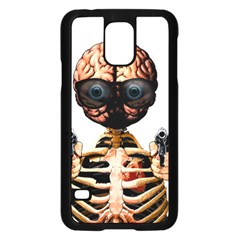 Do What Your Brain Says Samsung Galaxy S5 Case (black) by Valentinaart