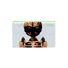 Do What Your Brain Says Cosmetic Bag (xs) by Valentinaart