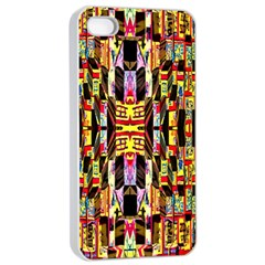Three D Pie  Apple Iphone 4/4s Seamless Case (white) by MRTACPANS