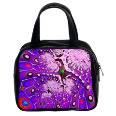 Fractal Fantasy 717a Classic Handbags (2 Sides) by Fractalworld